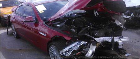 Типы Повреждений Авто в США